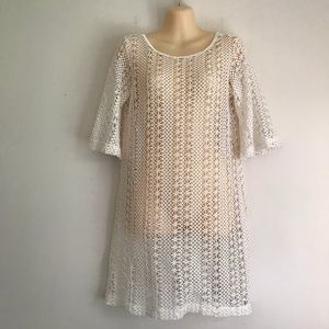 Crochet beach coverup